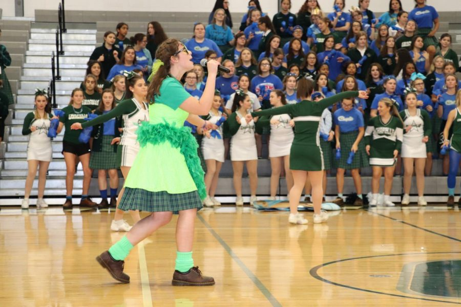 Fall Sports Pep Rally Recap