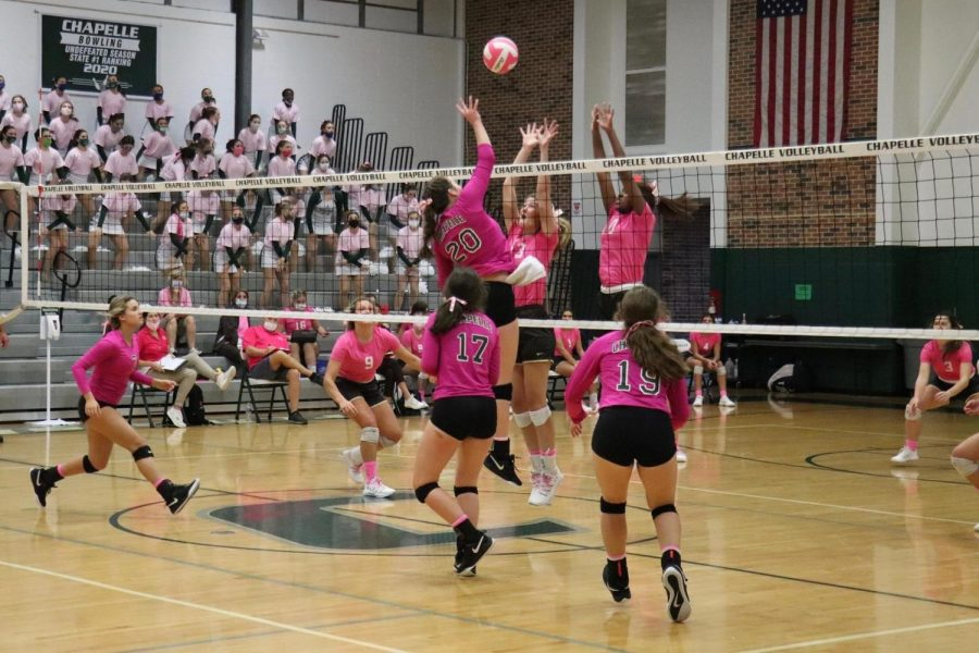 POV%3A+Volleyball+Players+During+Pink+Week